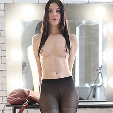 Amy in pantyhose