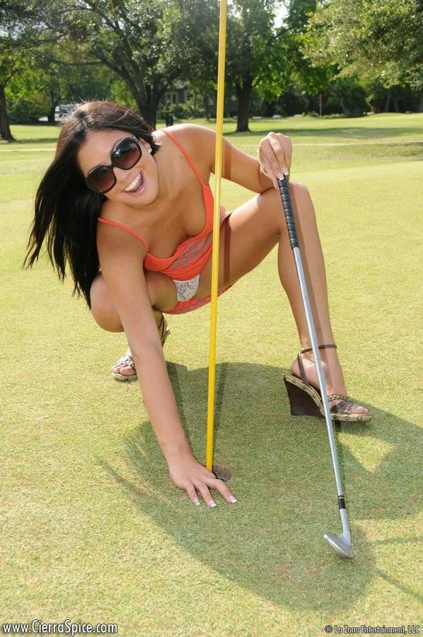 For that Lady golfer accidental upskirt something